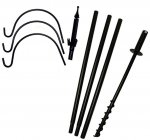 FP5TX - Economy 5 Piece Feeder Pole Set With 3 Arms - USA