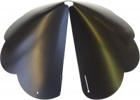 SB8SE - Cone Scalloped Edge Squirrel Baffle - USA