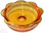 JCUPD - Replacement Glass Feeder Dish - Orange
