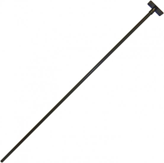 "FP1 - 80"" Bird Feeder Pole 1"" Diameter With Mounting Plate - USA - Click Image to Close"