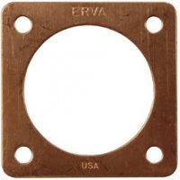 "PH1C- 1.5"" Portal for Bluebird Houses - Genuine Copper - USA"