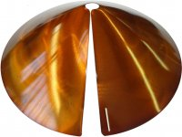 SB8C - Cone Squirrel Baffle /Squirrel Guard - Copper Tint - USA [763945518909]