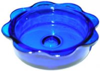 MWF1D - Replacement Glass Feeder Dish - Blue