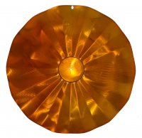 SB5C - Hanging Disk Squirrel Baffle - Copper Tint - USA