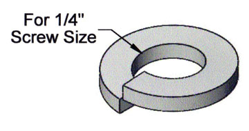 "43550 - 1/4"" Lock Washer - Click Image to Close"