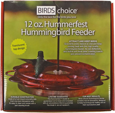 NP1002 - 12 oz Hummingbird Feeder - Click Image to Close