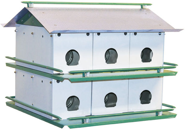 M12K - Purple Martin House (Made In USA) - Click Image to Close