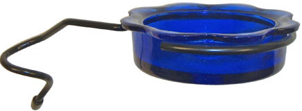 MWFWP - Quick Connect Feeder Dish - Blue - Click Image to Close